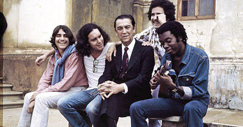O Clube da Esquina em 1971 - Foto: Juvenal Pereira/Divulgação