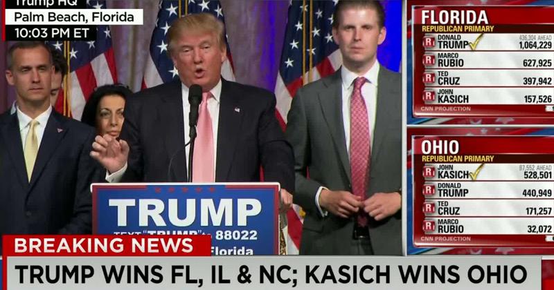 Faltou cobertura da imprensa sobre alguns segmentos da sociedade americana que permitiram a eleição de Trump - Foto: Reprodução/CNN