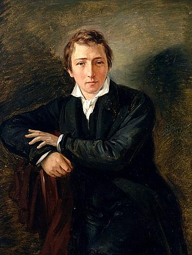 O poeta Heinrich Heine - Imagem: Wilimedia Commons