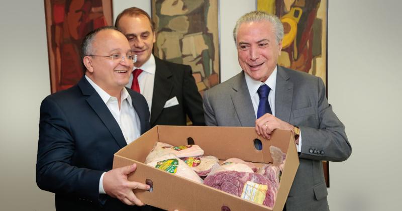 Michel Temer defende qualidade da carne brasileira - Foto: Mayke Toscano/Gcom-MT via Fotos Públicas