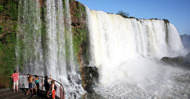 Turismo das Cataratas do Iguaçu, em Foz do Iguaçu - Foto: Joel Rocha/arquivo via Fotos Públicas