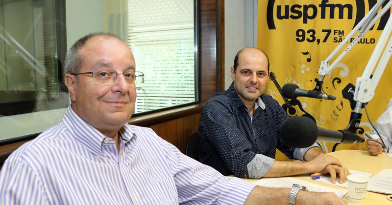 Luiz Gonzaga Godoi Trigo e Alexandre Panosso Netto - Foto: Marcos Santos/USP Imagens