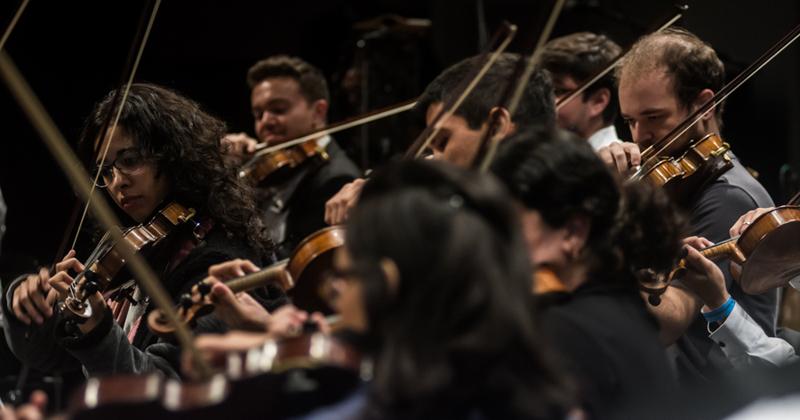 Ocam: 22 anos incentivando jovens músicos – Foto: Marcelo Macaue