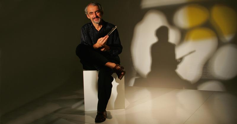 Toninho Carrasqueira: músico e professor da ECA – Foto: Gal Oppido