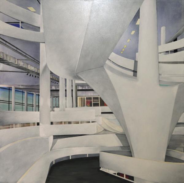 Paulo Almeida :Biennial Pavilion on the mirrors, 2015 - Foto: Divulgação