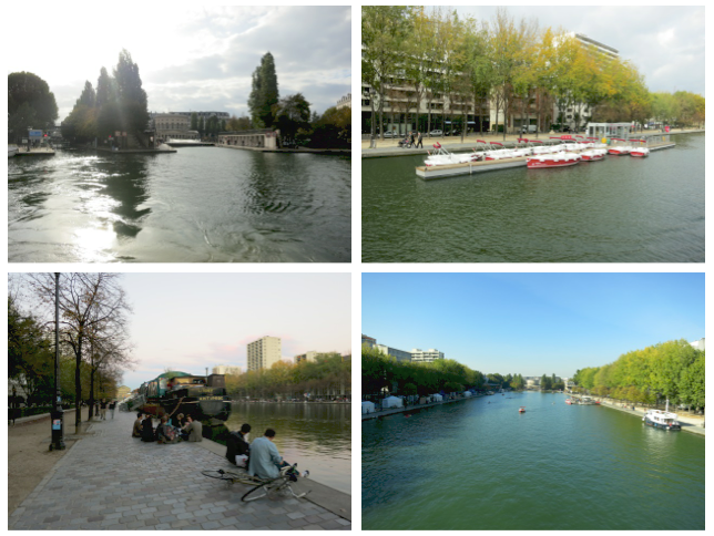 Bacia de la Villette, Paris - Fotos da autora, 2015