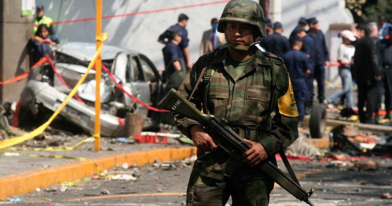 policiamento pelo Exército