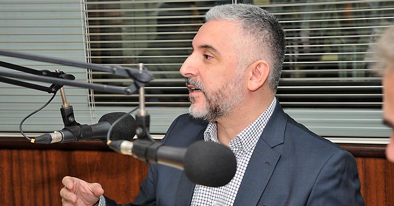 Gustavo Justino de Oliveira, professor do Departamento de Direito do Estado da Faculdade de Direito da USP – Foto: Jorge Maruta / USP Imagens