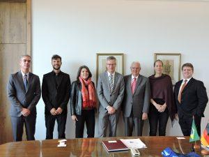 Reitor da Universidade Livre de Berlim visita a USP