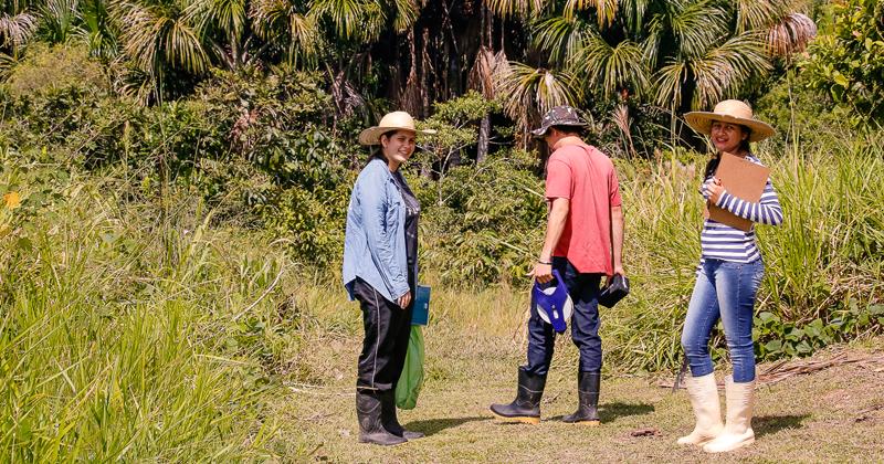 A parceria entre a USP e o Campus Floresta da Ufac ajuda para a formação de recursos humanos em Cruzeiro do Sul - Foto: Cecília Bastos/USP Imagens