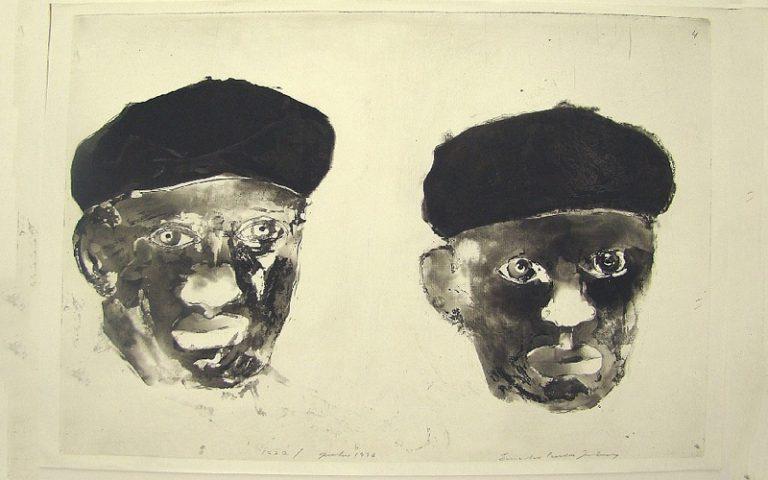 Duas Figuras, 1977-96 - Reprodução