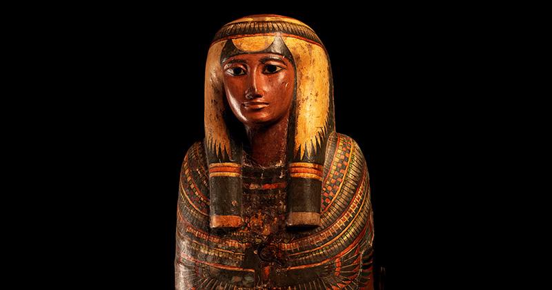 Caixão de Sha-amun-em-su – Egito Antigo