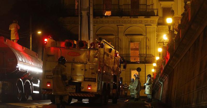 Incêndio destrói Museu Nacional no Rio