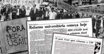 Há 50 anos, a universidade no olho do furacão
