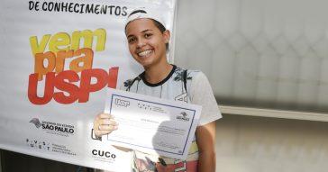 """""""Vem pra USP!"""" premiará alunos com oportunidades de estágio e bolsas de estudo"""