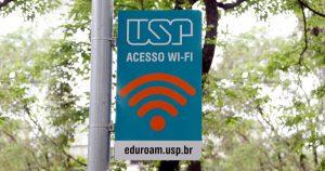 Comunidade universitária tem acesso à rede wi-fi nos campi da USP