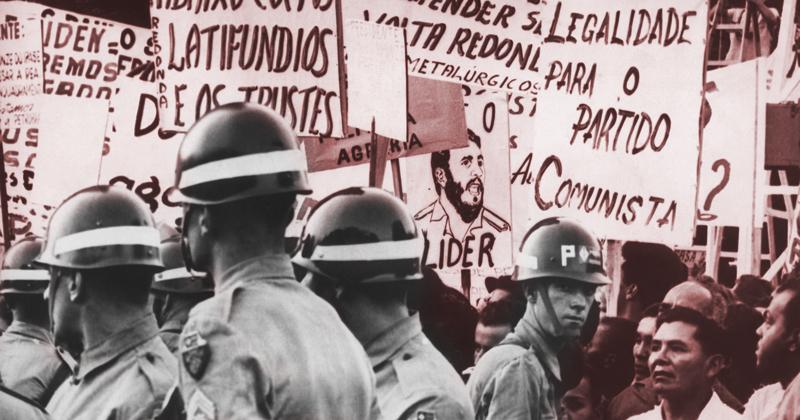 Comício na Central do Brasil, Rio de Janeiro, em 1964