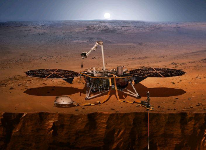 Nasa planeja enviar mini-helicóptero a Marte