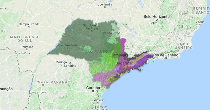 Mapa On Line Permite Desbravar A Geologia Do Estado De São
