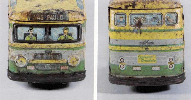 Livro aborda o significado histórico de brinquedos de metal produzidos pela empresa Metalma – Metalúrgica Matarazzo – Foto: Reprodução/Fonte: livro Brinquedos de Lata Metalma – Objetos da Infância na Industrialização Paulistana, 1930-1950