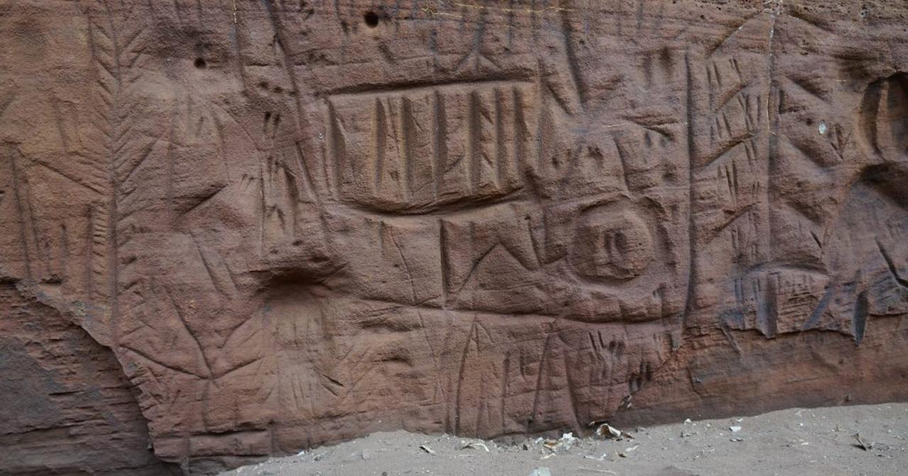 Pesquisadores descobrem maior painel de arte rupestre de SP, que vai virar modelo 3D