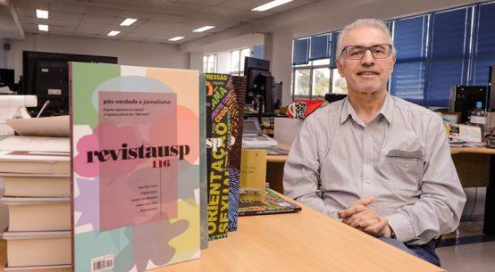 Francisco Costa é editor da Revista USP. Foto: Cecília Bastos/USP Imagem