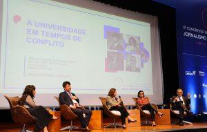 Congresso de jornalismo discute financiamento das universidades