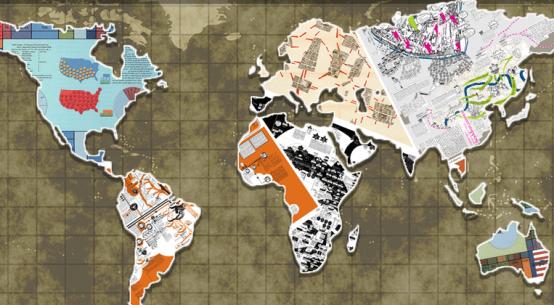 Arte Cleber Siquette Mapas