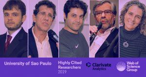 Cinco professores da USP estão entre os pesquisadores mais influentes do mundo