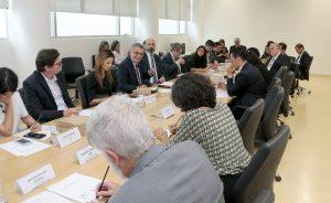 Reitoria promove reunião com patrocinadores do Museu do Ipiranga
