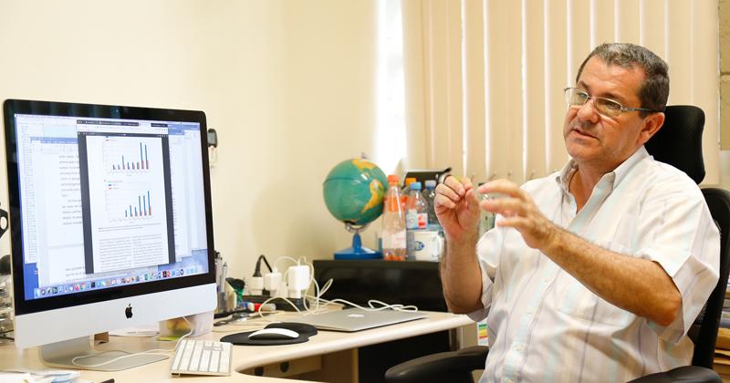 Tércio Ambrizzi é professor titular do Departamento de Ciências Atmosféricas do IAG-USP