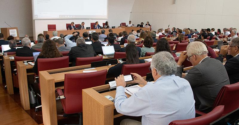 Novo sistema de votação do Conselho Universitário - Foto: Marcos Santos/USP Imagens
