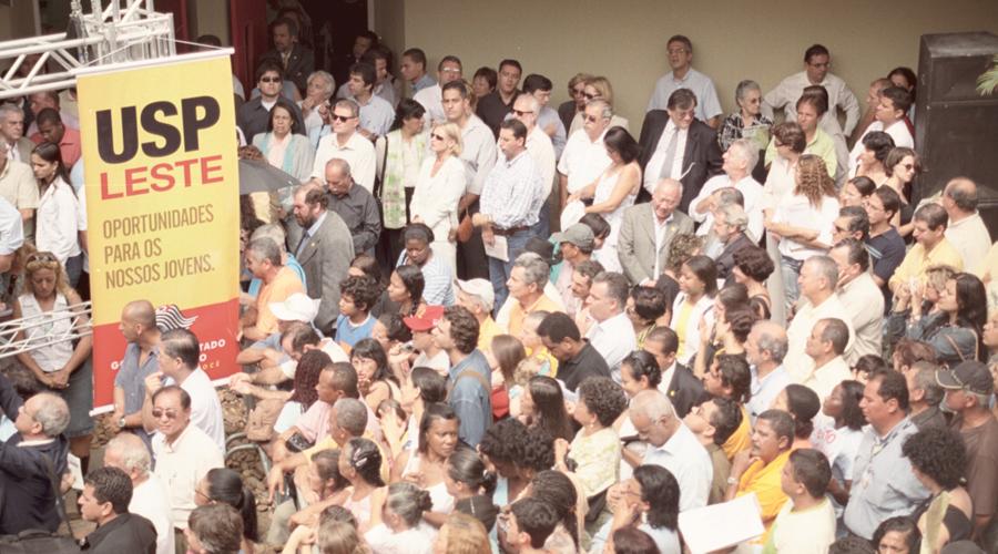 Inauguração do novo campus da USP na zona leste -Foto: Osvaldo José dos Santos/USP Imagens