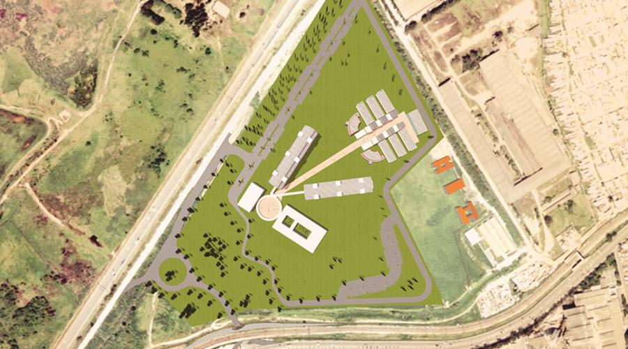 Esboço do projeto da USP Leste - Foto: Divulgação/COESF-USP
