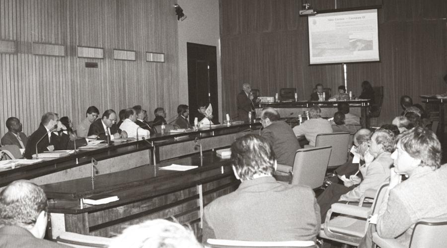 Apresentação do projeto da USP Leste na Assembléia Legislativa de São Paulo - Foto: Osvaldo José dos Santos/USP Imagens