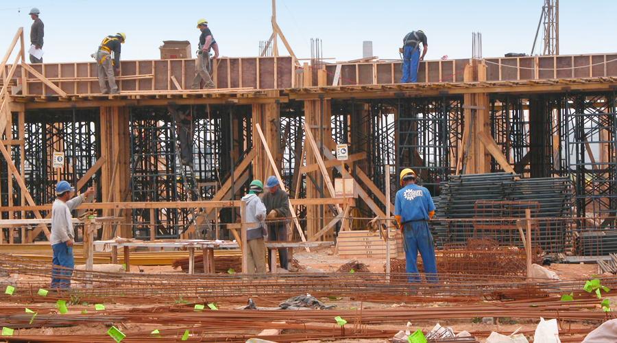 USP Leste em construção - Foto: Francisco Emolo/USP Imagens