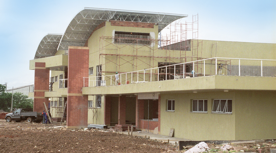 USP Leste em construção - Foto: Cecília Bastos/USP Imagens