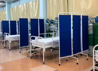 Hospital de campanha - Foto: DIvulgação/ Prefeitura de Taboão da Serra