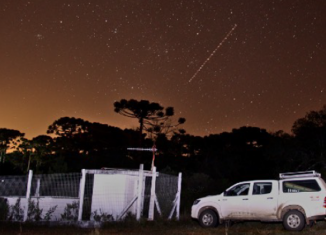 A estação sismográfica de Canela fica dentro do Parque do Caracol, no Rio Grande do Sul - Imagem: Centro de Sismologia da USP