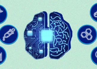 Inteligência artificial se mostra uma grande aliada na luta contra a Covid-19 - Fotomontagem: Jornal da USP/Luana Franzão