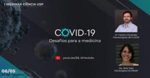 """Jornal da USP"" promove webinars gratuitos para discutir a ciência da covid-19"