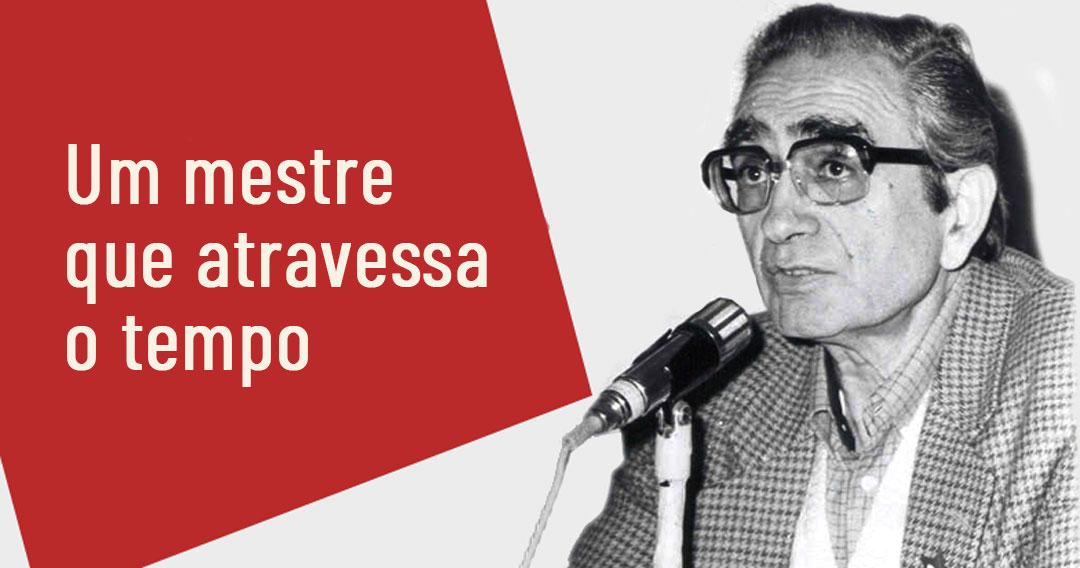 Florestan Fernandes - Foto: Arquivo Jornal da USP