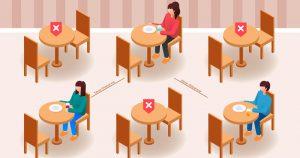 Durante pandemia grandes restaurantes sofreram mais do que pequenos