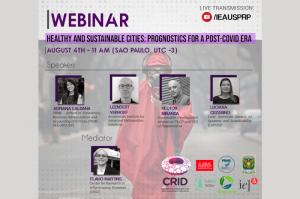 Pandemia e cidades sustentáveis são tema de conferência on-line