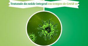 Saúde integral na pandemia da covid-19 é tema de evento on-line