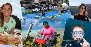 Três mulheres e um desafio: agir pela proteção do oceano sob a ótica feminina