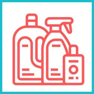 Higienização das embalagens dos alimentos