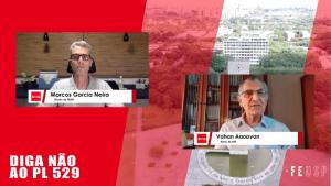 Ato público defende as universidades estaduais paulistas, a pesquisa e os serviços públicos de SP