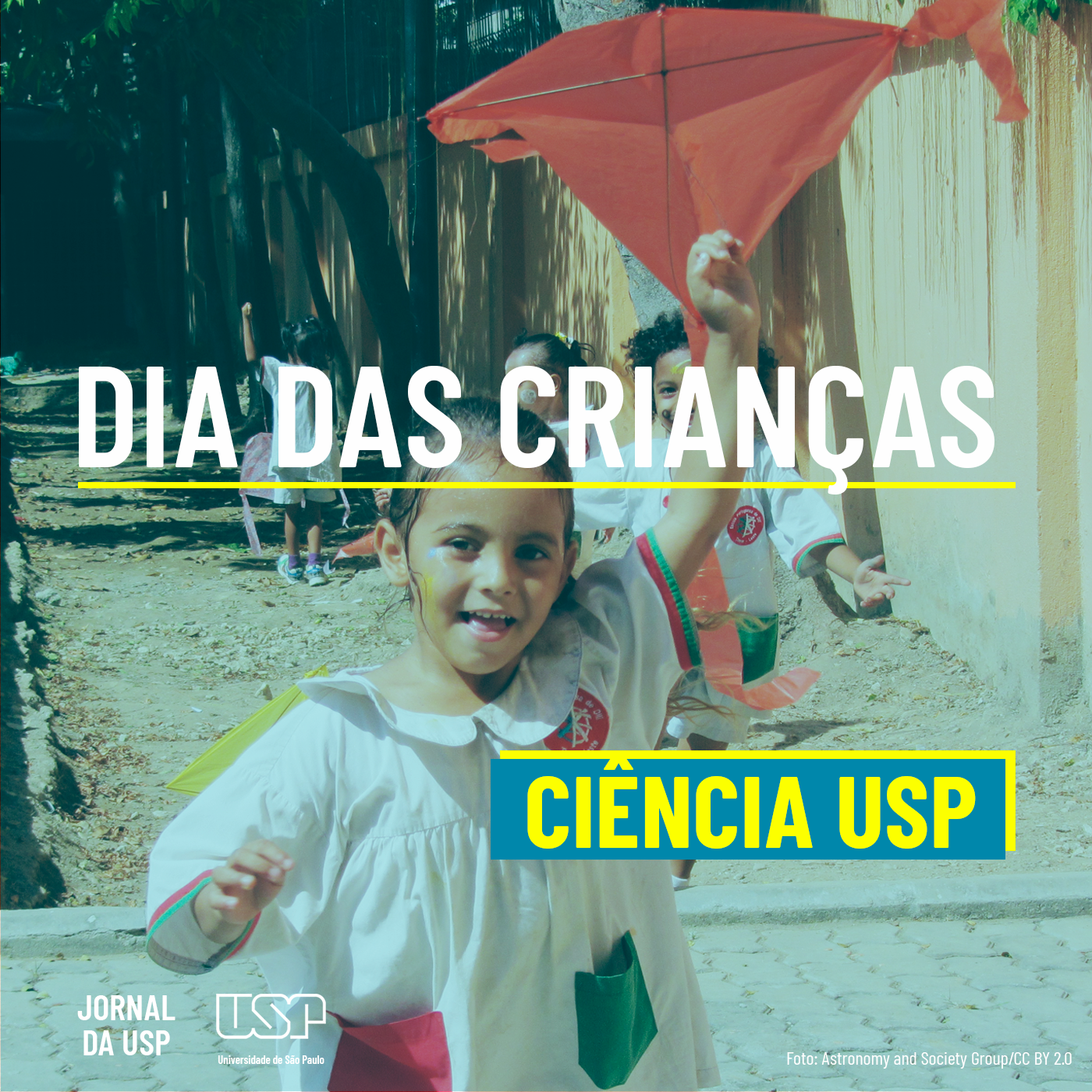 Capa de Ciência USP #33: Dia das Crianças