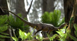 Reconstituição de crânio revela que dinossauro de 233 milhões de anos era caçador com visão aguçada